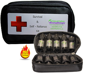 Essential Oil Survival/Self-Reliance Kit